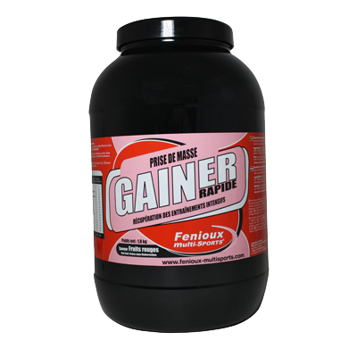 GAINER Rapide Fruits Rouges 1.8 kg
