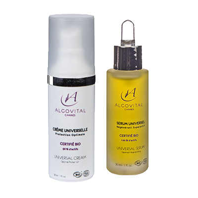 Duo: Serum + Bio-Universalcreme 2 x 30 ml