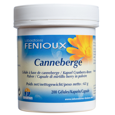 Canneberge 200 gélules, 240 mg