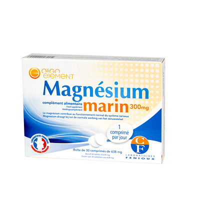 Marines Magnesium 30 Tabletten, 580 mg